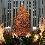 Christmas Tree at NBC Studios, Rockefeller Plaza, New York