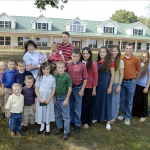 The Duggar family before the arrival of Jordyn-Grace