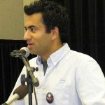 Kal Penn at UMD during Obama's campaign
