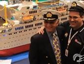 Lego Brick Master builds Giant Replica of the 'Love Boat'