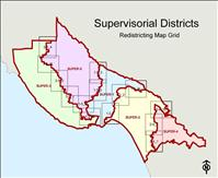 Santa Cruz County Redistricting Map