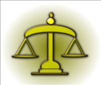 Scales of Justice Graphic – DNR