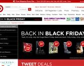 Target Black Friday in July – One Day Sale online July 15, 2011