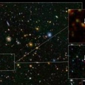 Scientists Find New Distant Galaxy Using Hubble and Ground Based Telescopes