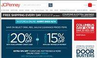 JCP Columbus Day Sale 2013